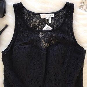 Ina Black Lace Dress